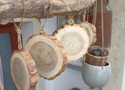 Dřevěná kolečka